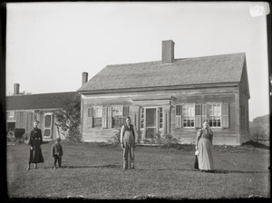 Atkinson's Hollow: family and house (Prescott, Mass.)