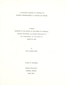 Student theses
