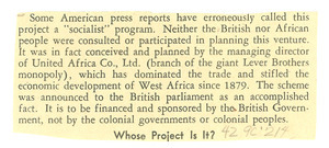 Fragment from unidentified newsletter