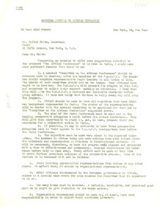 Letter from A. A. Nwafor Orizu to Walter White
