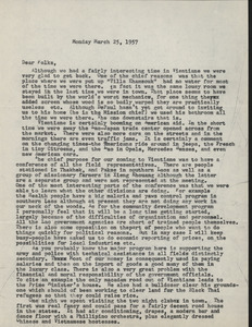 Letter from Joel M. to Nettie and Carl Halpern