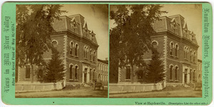 No. [101]. View at Haydenville: View of Hayden, Gere and Co.'s Band Building and Office