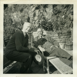 Donald Ogden Stewart and W. E. B. Du Bois in Hampstead