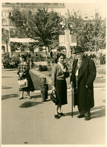 W. E. B. Du Bois and unidentified woman, Soviet Union