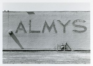 Almys on rear of store