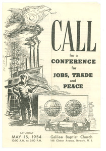 Call for a Conference for Jobs, Trade and Peace