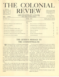 The Colonial Review