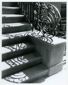 Fancy banister in Brooklyn Heights