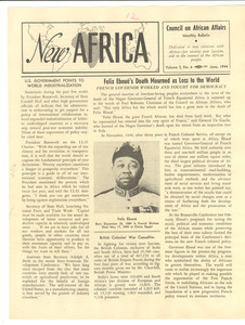New Africa volume 3, number 6