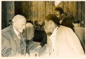 W. E. B. Du Bois at Afro-Asian Writers Conference, Tashkent