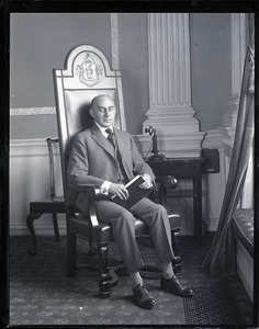 Channing H. Cox, formal portrait