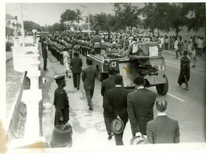 Funeral procession for W. E. B. Du Bois