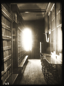 Library study area, Old Chapel (UMass Amherst)