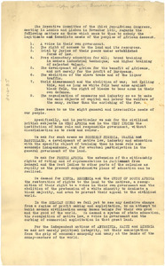 Resolutions of the Executive Committee of the Third Pan African Congress.
