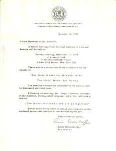 Circular letter from national institute of arts and letters to circular letter from national institute of arts and letters to w e b du bois thecheapjerseys Image collections