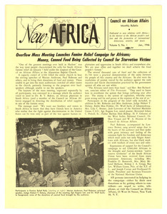 New Africa volume 5, number 1