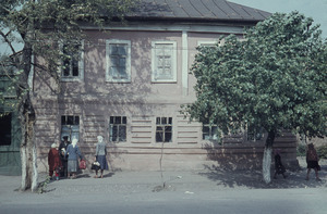 Building in a town outside Moscow