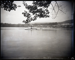 Steamer on Lake Pleasant