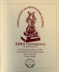 2011 conference Waterville, Maine : 34th annual conference of the Association for Gravestone Studies
