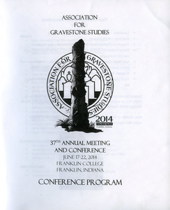 Association for Gravestone Studies 37th annual meeting and conference : Conference program