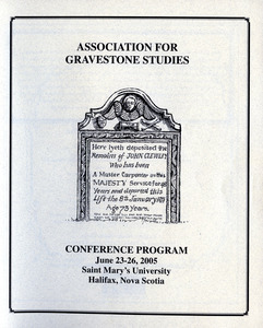 The Association for Gravestone Studies 28th conference and annual meeting