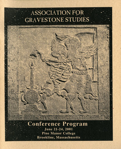 The Association for Gravestone Studies, 24th conference and annual meeting