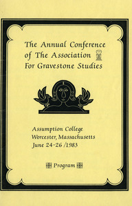 The annual conference of the Association for Gravestone Studies : Program
