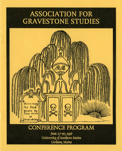 Association for Gravestone Studies conference program