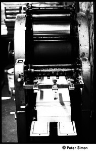 Liberation News Service printing press: nicknamed Johnny (later removed to the Montague Farm commune)