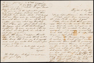 Letter from Augusta Bruen, Dayton, OH to Luther Bruen, 1861 August 1