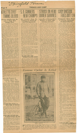 All-Cody Program Article (1918)
