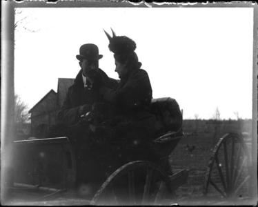 O. W. Stevens collection of glass plate negatives, 1898-1912 (PC067)