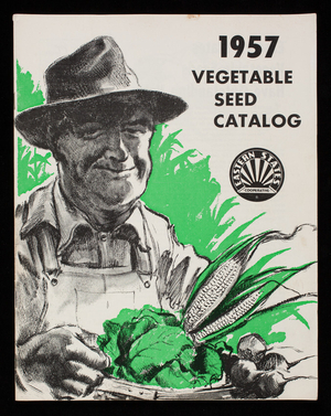 1957 vegetable seed catalog, Eastern States Farmers' Exchange, Inc., West Springfield, Mass.