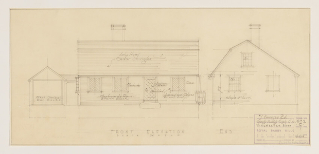 County Building Supply (builder) house, Winchester, Mass.