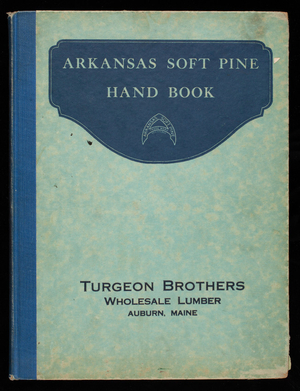 Arkansas soft pine, satin-like interior trim, soft, workable common lumber, standard moulding and grading rules, includes moulding supplement of new forms, compiled by Robert H. Brooks, Advertising, Arkansas Soft Pine Bureau, Little Rock, Arkansas