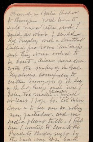 Thomas Lincoln Casey Notebook, January 1889-February 1889, 79, channel in Boston Harbor