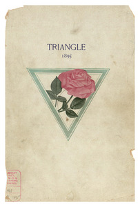 The Triangle Class Book, 1895