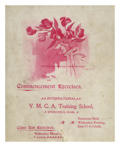 Commencement Exercises, 1896