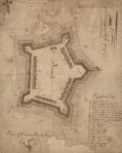 Plan of Crown Point Fort