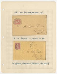 Civil War correspondence of William Henry Hendrick