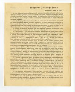 Circular on framing of charges, and instructions on countersign signals