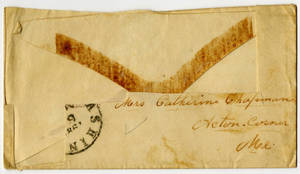 Correspondence by 'James' to his sister, Catherine Chapman.