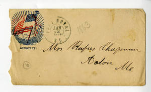 Correspondence by Rufus Chapman, 1863 January-February