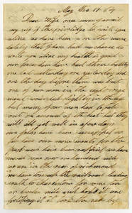 Correspondence by Rufus Chapman, 1864 May-August