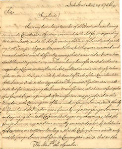 William Bollan papers, 1756 May-November