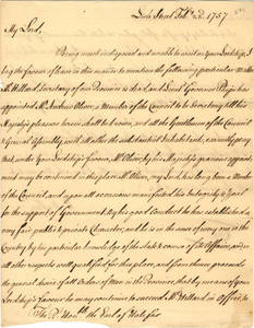 William Bollan papers, 1757 February-June