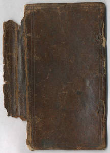 Commonplace book of Reverend Seaborn Cotton