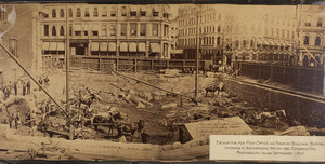 Site of the Post Office, Boston, Mass., Sept. 1, 1875