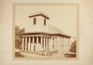 View of King's Chapel, Tremont Street, Boston, Mass., undated
