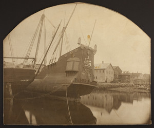 "View of ""The Arabella,"" Manchester, Mass., ca. 1879"
